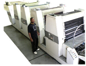 Crabtree 920 Full Colour Large format printing press 5000 Sheets per hour