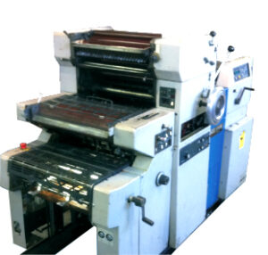 Ryobi 5000 A3 Sheets per hour, numbering, printing and perforating